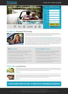 Best free auto insurance quotes effective lead capture landing page design templates to capture leads for your auto insurance business conversion and sales from https://www.buylandingpagedesign.com/buy/best-free-auto-insurance-quotes-effective-lead-capture-landing-page/588
