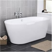Pool 1750 Double Ended Round Freestanding Bath - NFB005