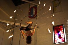 fire aerial hoop?