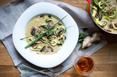 Lemongrass Coconut Soup {Vegan}