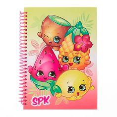 Shopkins Tropical Fruit A5 Notebook