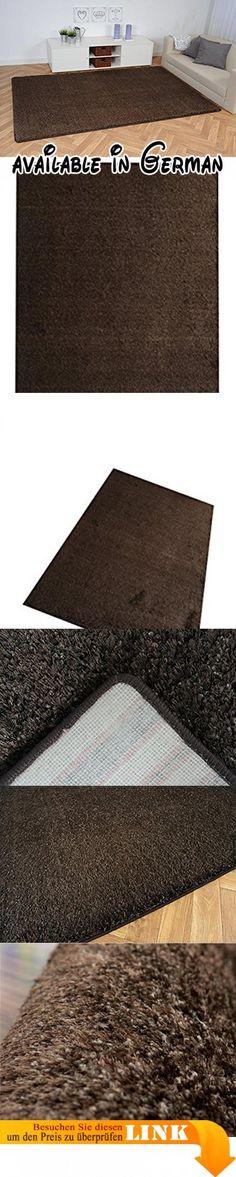 Hochflor Teppich Dieser schöne Hochflor Teppich 00012444 stammt aus - Teppich Wohnzimmer Braun