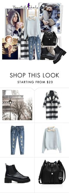 """Beautifulhalo 8"" by ramiza-rotic ❤ liked on Polyvore featuring MICHAEL Michael Kors, women's clothing, women, female, woman, misses, juniors and beautifulhalo"