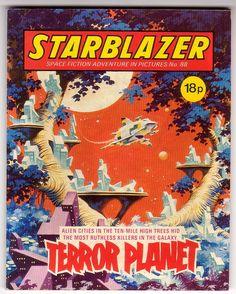 Starblazer #88 (UK Comic Book)