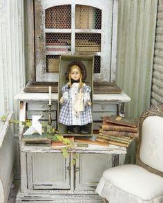 ☆ 𝔸𝕥𝕖𝕝𝕚𝕖𝕣 𝕕𝕖 𝕃é𝕒 ☆ (@atelier.miniature) • Photos et vidéos Instagram Vanity, Mirror, Photos, Furniture, Instagram, Home Decor, Bedroom, Living Room, Atelier