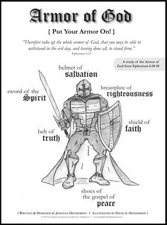 Head on over to Nephilimt He Remnants for a FREE Bible Study for boys and girls. The Armor of God Bible Study is geared for grade and up. The study includes: Family Bible Study, Bible Study For Kids, Kids Bible, Free Bible Study, Bible Art, Bible Scriptures, Bible Quotes, Qoutes, Bible Activities