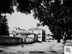 G. Bonfitto. San Marco in Lamis: vecchia veduta di Largo Piano