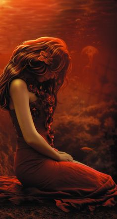 + Crimson Deep + by OmarRodriguezV (detail)