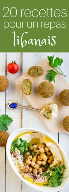 Falafels, houmous, shawarma... 20 recettes sucrées et salées pour un repas libanais ! Veggie Recipes, Vegetarian Recipes, Cooking Recipes, Healthy Recipes, Middle East Food, Middle Eastern Recipes, Hummus, Good Food, Yummy Food
