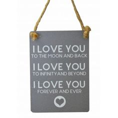 Now available online: I Love You Mini M... Check out our quirky gifts here! http://www.feelingquirky.co.uk/products/i-love-you-mini-metal-sign?utm_campaign=social_autopilot&utm_source=pin&utm_medium=pin