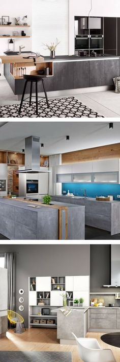 Beton betonküche küche aus beton idee bilder diy anleitung