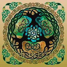 """Tree Of Life symbol has branches above mirroring roots underneath. It means """"As above so below"""". Roots are buried in earth as branches reach the sky. The tree represents the human and as the branches extend up it represents human spirituality as it grows to become one with the heavens. The roots also represent developing a bond with earth as they grow into the ground. Combining  this creates the concept of oneness. Everything is connected to everything else by the life force called spirit."""