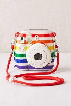 Fujifilm Instax Mini 8 Rainbow Hard-Shell Camera Case