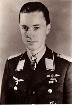 Major Heinrich Alexander Ludwig Peter Prinz zu Sayn-Wittgenstein (14 August 1916 – 21 January 1944) night fighter flying ace with 83 victories. Knight's Cross on 2 October 1942 as Hauptmann and Staffelkapitän of the 9./NJG 2; 290th Oak Leaves on 31 August 1943 and Hauptmann and Gruppenkommandeur of the I./NJG 100; 44th Swords on 23 January 1944 (posthumously) as Major and Geschwaderkommodore of NJG 2