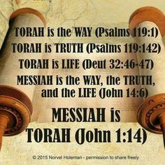 If you believe the Torah (Law) was done away with then you don't believe in our Messiah. Because our Messiah is the Torah. The one is the other.