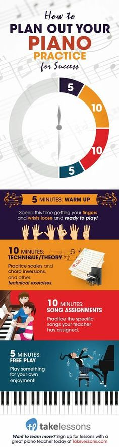 What's the best way to practice piano? If you really want to become a better piano player, you'll need to have a plan in place when you sit down at the keys. Here, online piano teacher … Das Piano, Piano Music, Sheet Music, Piano Lessons, Music Lessons, Solfege Piano, Piano Classes, Piano Teaching, Music Classroom