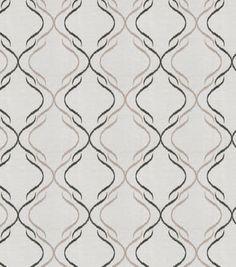 Eaton Square Sheer Fabric-Casino/Charcoal