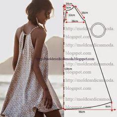 Tutoriales y DIYs: Patrón de vestido veraniego