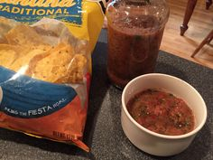 Chips and Salsa With a secret ingredient