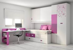 Teen Girl Bedrooms concept example 7210024803 - A pleasing yet alluring info of bedroom styling tactic. Under Bed Drawers, Kids Room Furniture, Teenage Room, Girl Bedroom Designs, Teen Girl Bedrooms, Kids Room Design, Home And Deco, My New Room, Small Rooms