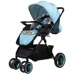 (238.00$)  Watch now - http://aidsc.worlditems.win/all/product.php?id=32767612442 - High landscape baby stroller umbrella newborn children trolley car pushchair stroller can sit can lie