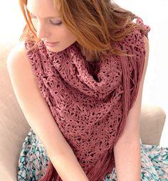 Modèle chèche au crochet femme - Modèles tricot femme - Phildar