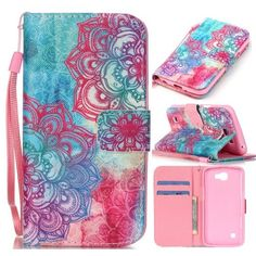 lg zone 3 phone cases. [wave smile] - [kickstand][wallet][card slot][flip][slim fit] premium protective case for lg optimus zone 3 / k4 spree rebel: cell phones lg phone cases 4