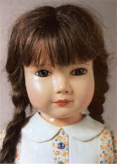 A brunette American Children doll, manufactured by Effanbee Doll Company, designed by artist Dewees Cochran, c.1936-39.