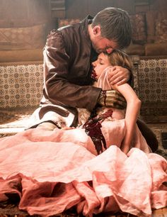 """We don't hurt little girls in Dorne."" ""Everywhere in the world, they hurt little girls."" Myrcella Baratheon and her father Jamie lannister"