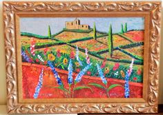 'French Fields' by Jane Hyder (SOLD) $1,200.