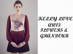 This Little Girl Is Lost: It Must Be Love: Kelly Love AW 13 Collection
