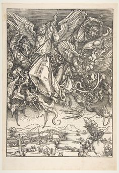 St. Michael Fighting the Dragon, from the Apocalypse : Free Download & Streaming : Internet Archive