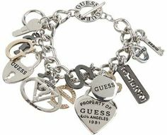 GUESS - 179167-21 (IR/Hematite/Gold) - Jewelry on shopstyle.com