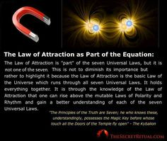 #Law of attraction