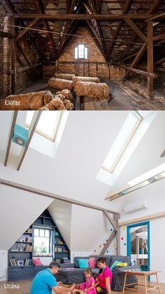 Fedezze fel a tetőtérben rejlő lehetőségeket tetőtéri tanácsok és képgaléria segítségével. Teremtsen otthont a tetőtérben!