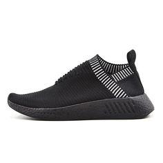 2903344ac44 Adidas hombres mujeres Originals NMD City Sock CS2 Negro Zapatos para  correr BA7213 Adidas Nmd