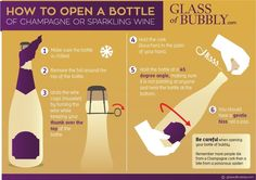 Here's to never being scared of opening another bubbly again