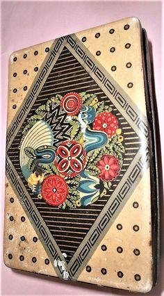 original Blechdose Bahlsen Josef Margold  wiener Sezession  gut erhalten.  seltene und gesuchte Dose  H : 4,5 B : 16 T : 10 cm