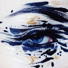 Abstract Splashes – Les maquillages créatifs de l'artiste Ida Ekman