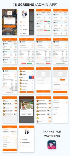 Food Ordering App UI Kit designed for Restaurants, Food delivery shops, and vendors. This UI kit has a complete bundle of the user and admin workflow.This kit includes all possible features related to food delivery business. This UI kit contains 23 user& Mobile App Design Templates, Ui Design Mobile, App Ui Design, Interface Design, Restaurant App, Restaurant Order, Android App Design, Android Ui, App Design Inspiration