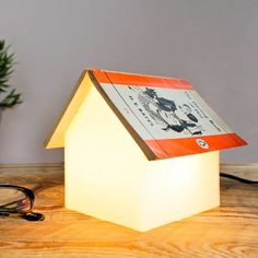 It makes your book look like a little house!Get it from Wayfair for $61.99.