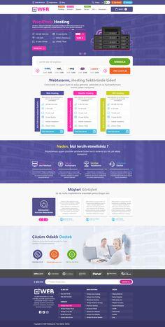 Web Hosting Arayüz Tasarımı Web Hosting Arayüz Tasarımını Adobe XD ile tasarlanmış olup; 1170px Boostrap Kurallarına uygun şekilde çizilmiş olup tasarımda en ince detaylarda yer almıştır. Adobe, Wordpress, Cob Loaf