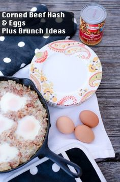 Do you love brunch as much as I do? I've got tips for hosting the perfect brunch and a recipe for Corned Beef Hash & Eggs. #HowDoYouHash AD