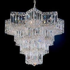 Schonbek Equinoxe 15 Light Crystal Pendant