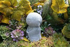 Jizo Statue  Garden Jizo Buddha  Jizo Bodhisattva от PhenomeGNOME