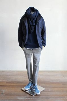 Mens Fashion Casual – The World of Mens Fashion Winter Outfits, Casual Outfits, Fashion Outfits, Fashion Moda, Mens Fashion, Stylish Men, Men Casual, Winter Stil, Herren Outfit