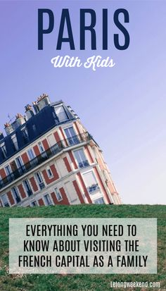 Planning a family holiday in Paris, France? Read our ultimate guide with everything you need to know about visiting Paris with kids! #france #paris #familytravel