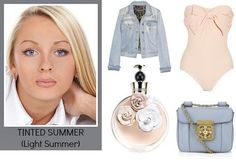 Tinted Summers, otherwise known as Light Summers, look best in the lightest colors of the Summer palette. It's sister-season is the Light Sp...