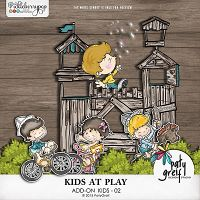 "Kids At Play ""Add-On Kids 02"" by Paty Greif"