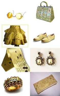 YELLOW / GOLD by Liat Hartman on Etsy--Pinned with TreasuryPin.com